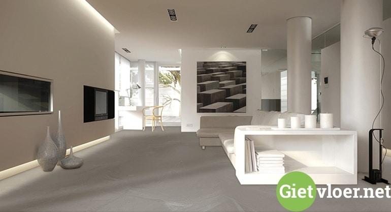 Een stijlvolle woning creëren met een gietvloer