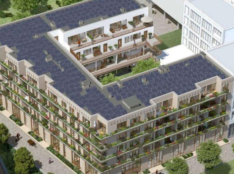 Appartementen met gietvloeren
