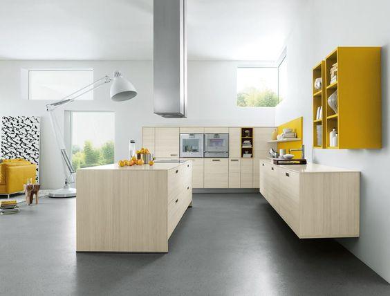 Keuken Gietvloer Witte : Inspiratie gietvloer in de keuken gietvloer