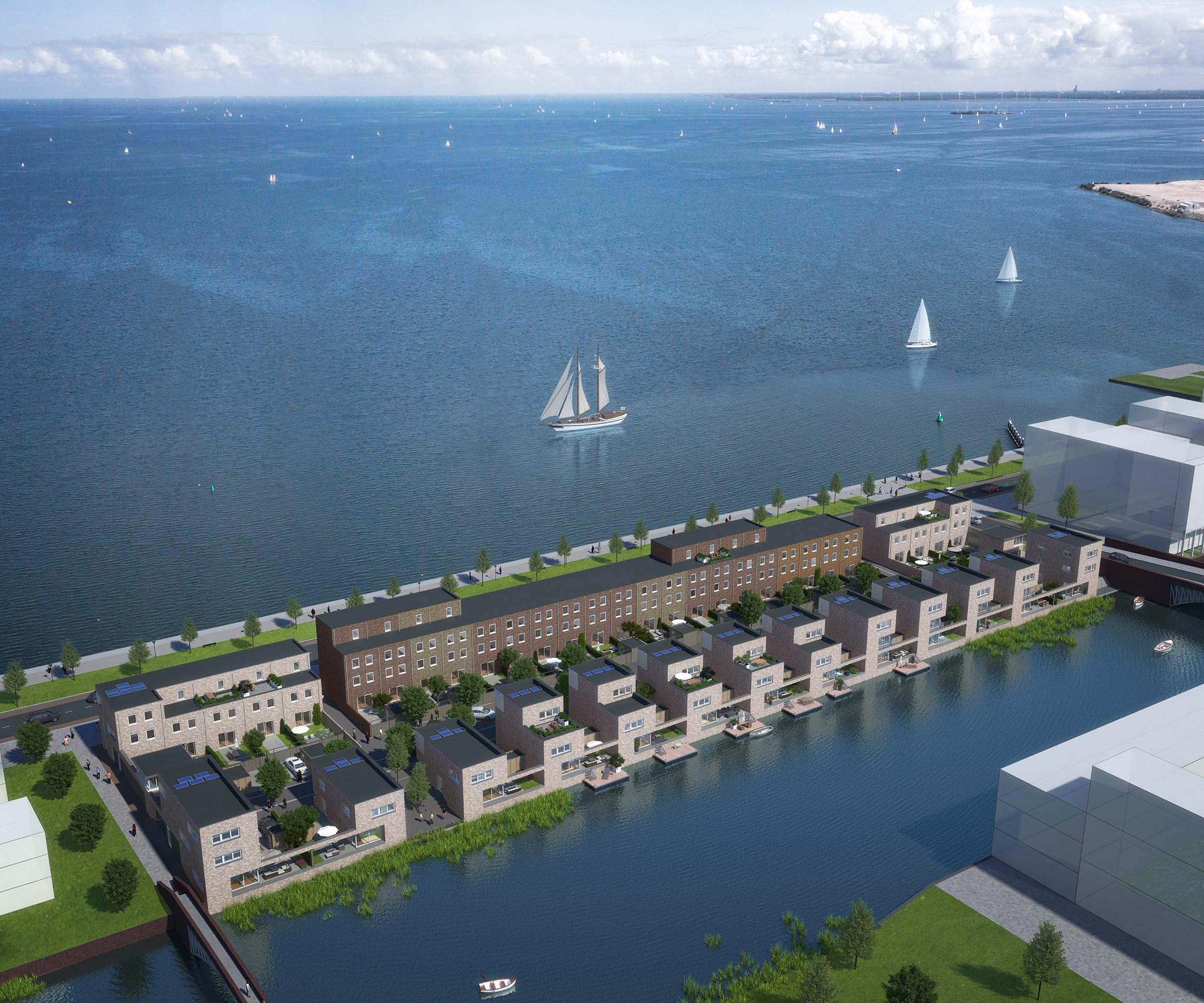 Waterview Amsterdam gietvloer voor optimale woonbeleving
