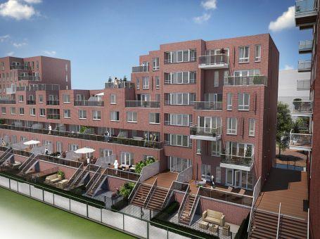 Gietvloeren in Nieuw Amstel project