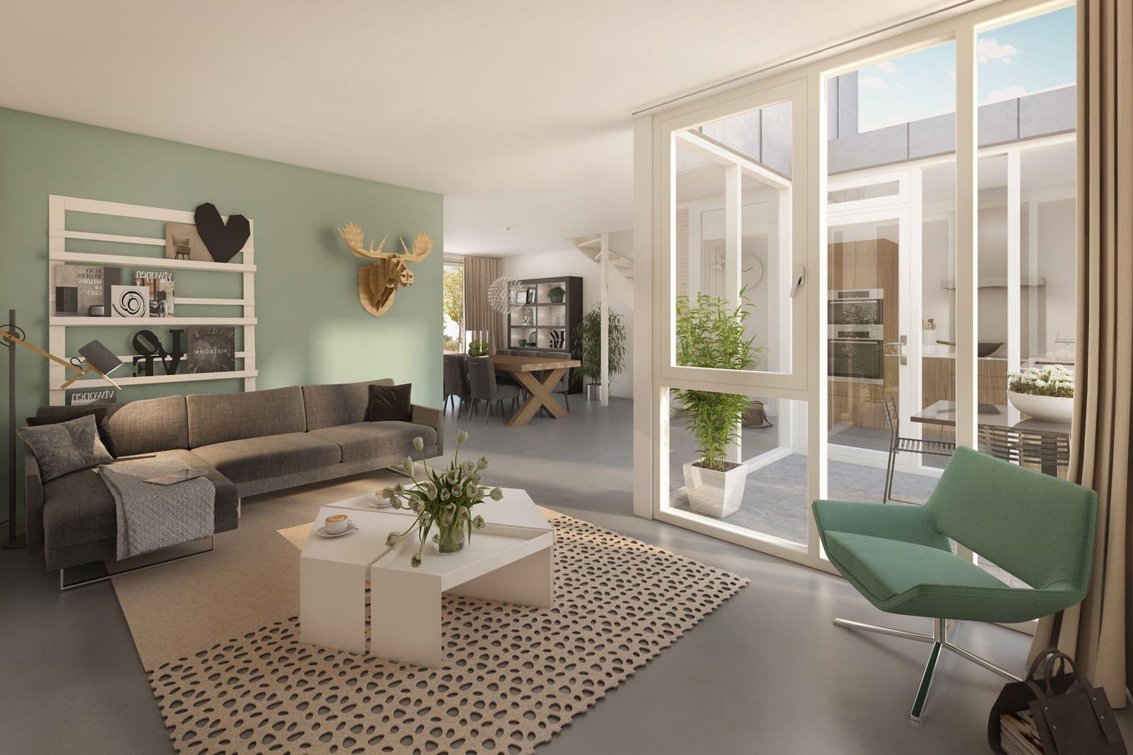 Gietvloeren ideaal voor nieuwbouw De Wij in Utrecht