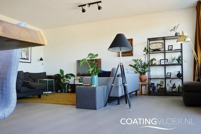 Betonvloer in een appartement