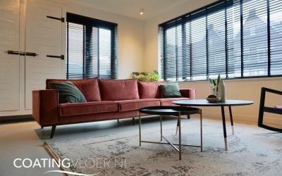 Een gietvloer als onderdeel van een modern interieur