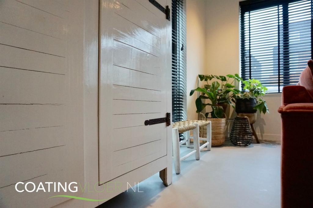 Gietvloer modern interieur