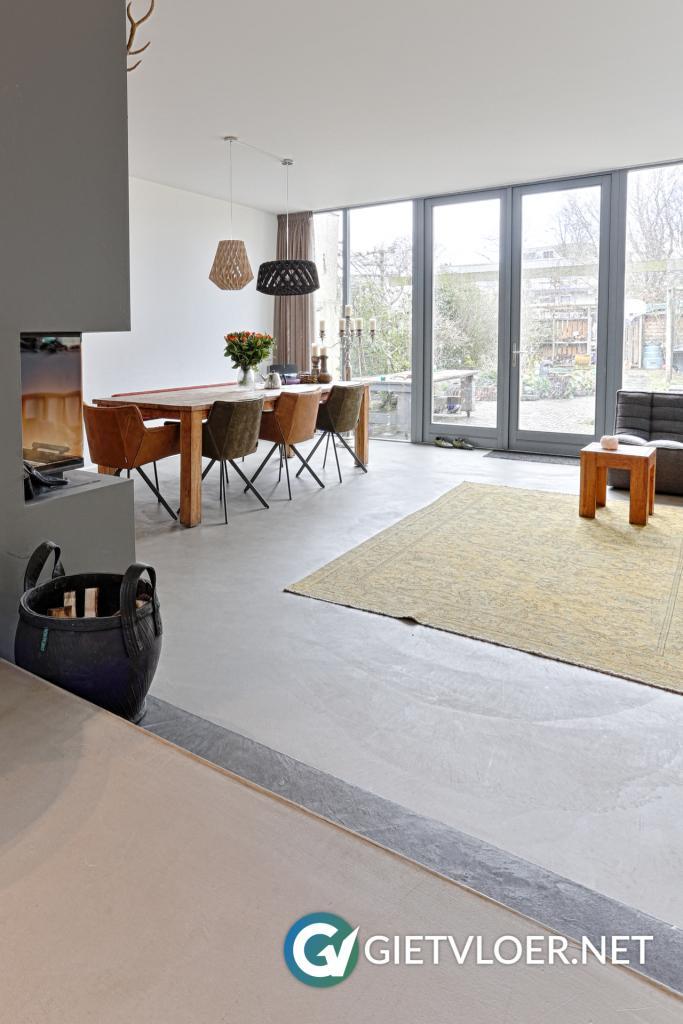 Hillegom woning betonvloer woning