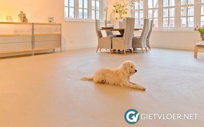 Design Betonvloer Pure Elephant grey in Hoofddorp
