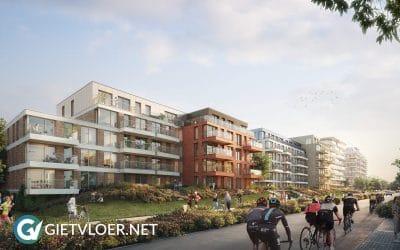 Gietvloer Amstelveen Apartments Olympiade
