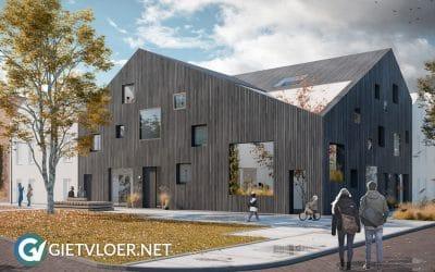 Gietvloer in nieuwbouwwijk Wisselspoor Utrecht